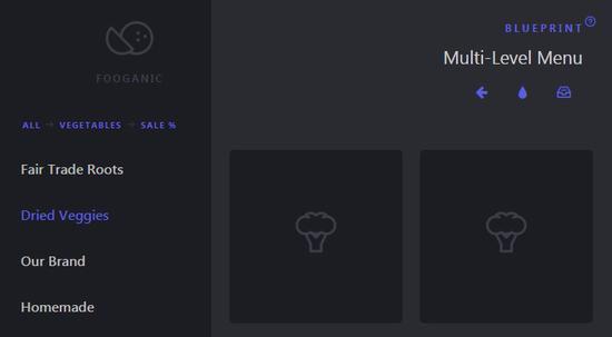 Multi-Level Menu file preview