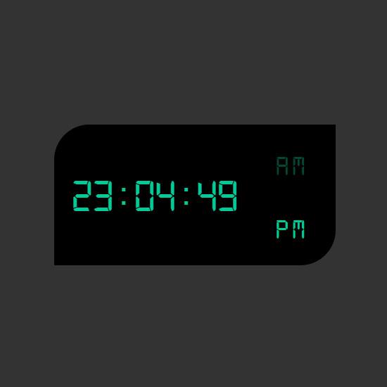 Simple JS Clock Concept file preview