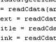 XML Parser v1