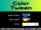 Color Tween