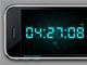 iPhone clock