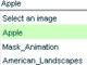 Image loader through combo box