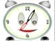 Funny animated Clock