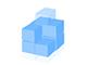 Animated boxes logo